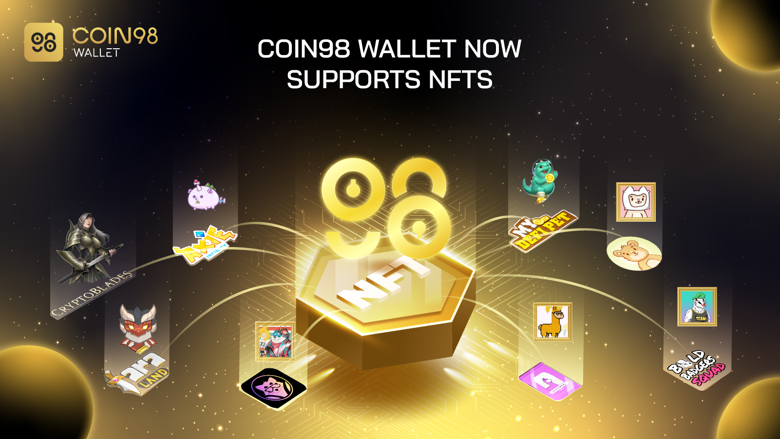 Coin98 Wallet supported NFT
